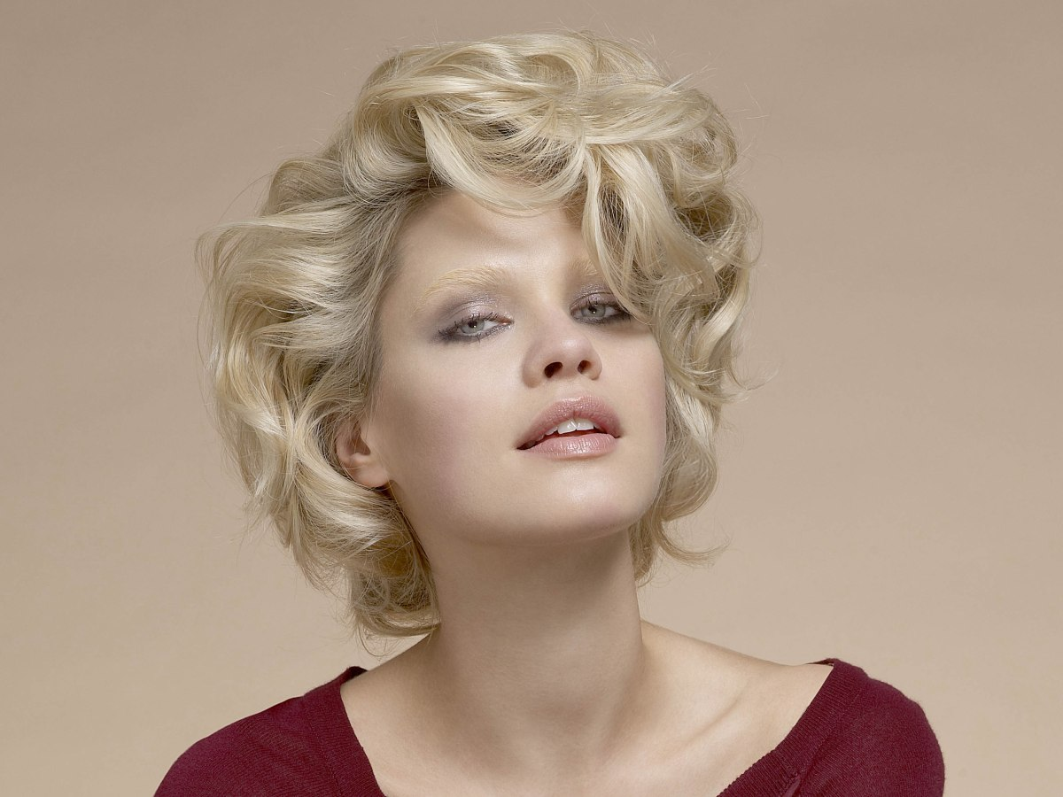 Frosted Hair Styles For Short Hair | hnczcyw.com