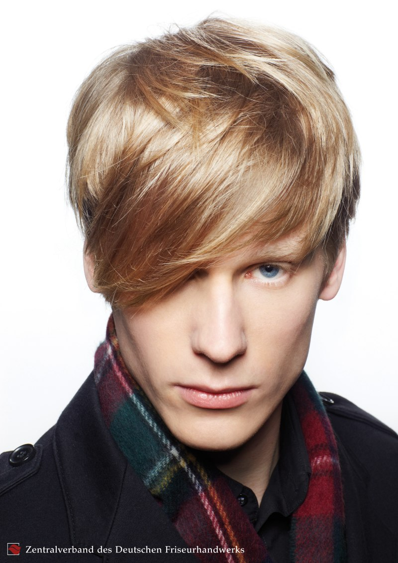 Casual Men S Haircut With Fairly Long Top Hair And