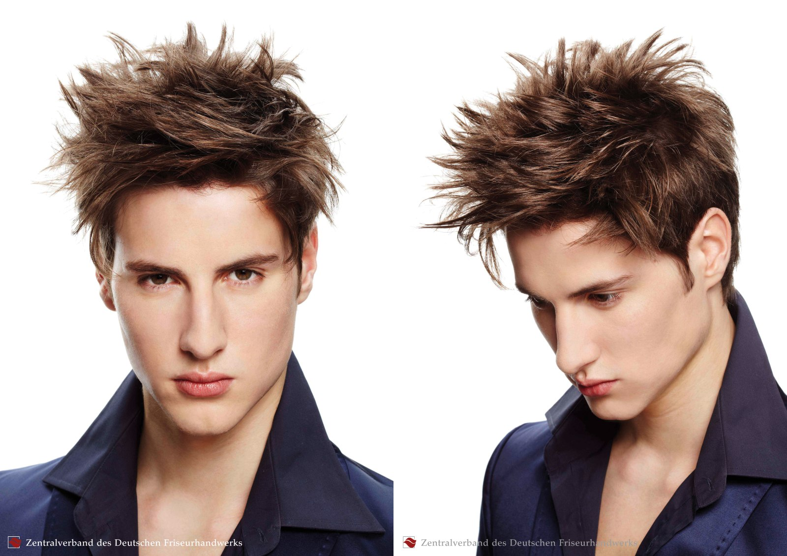 Super Spiked Hairstyle And Criss Cross Hair Styling For Men Short Hairstyles Gunalazisus