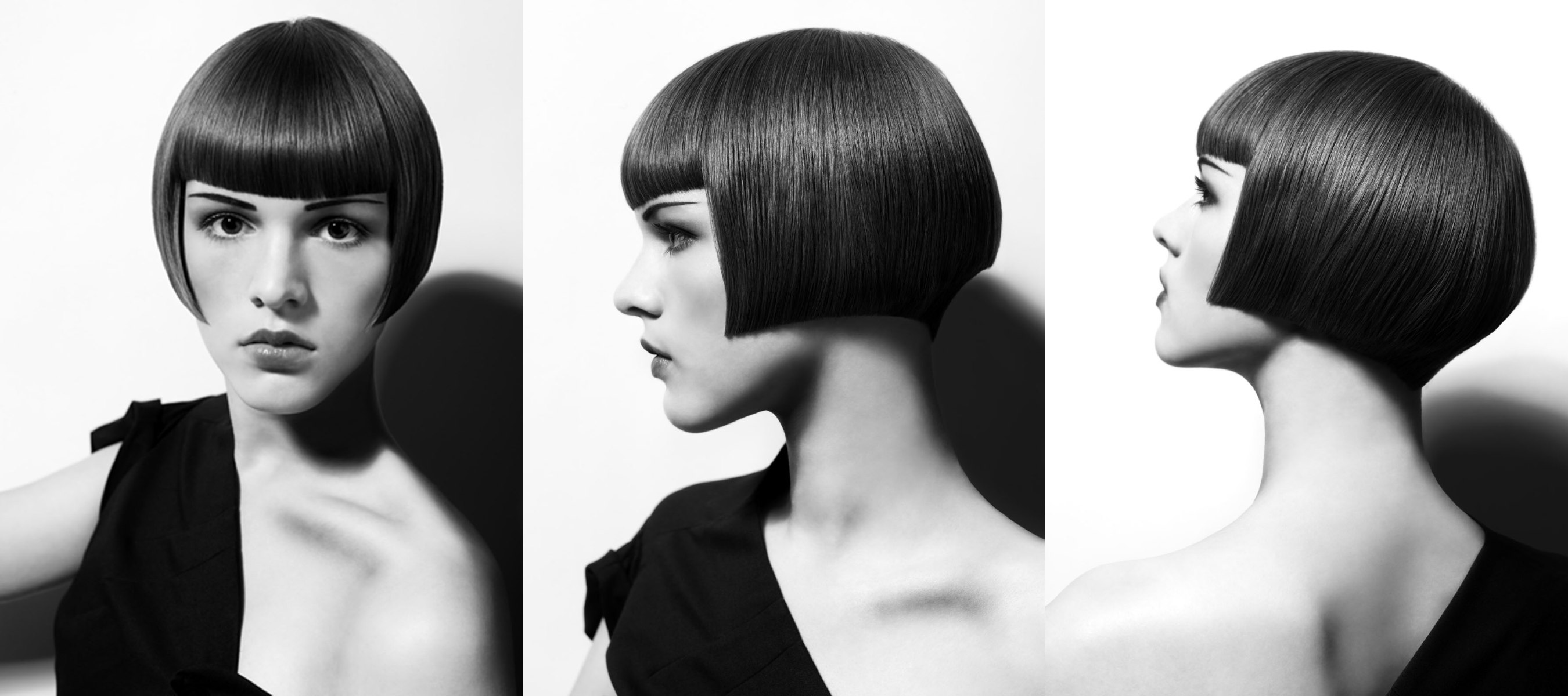 1920s Charleston Hairstyle Bob That Just Covers The Ear With A