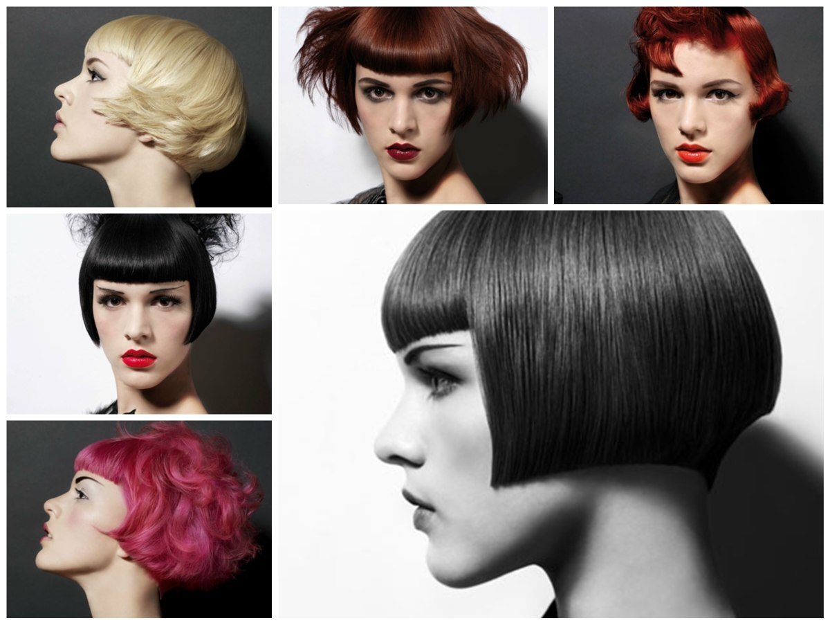 Hairstyles Inspired By Punk And With A Short Bob As Base Cut