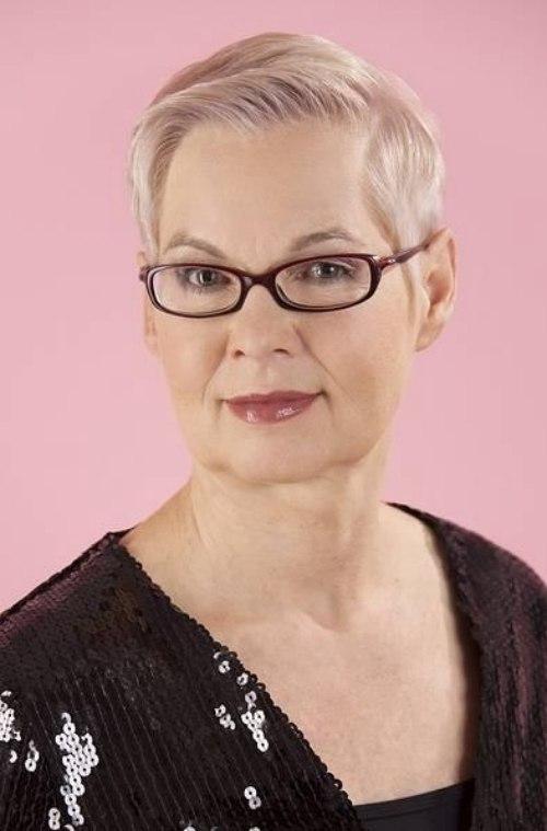 Short Flexible Haircut For Older Professional Women