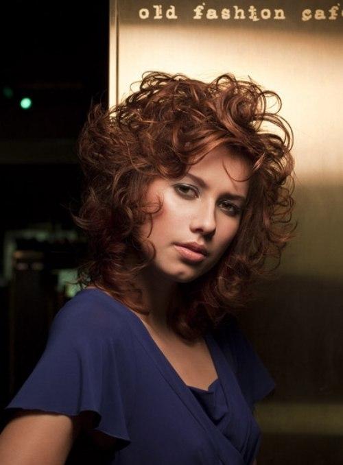 modern big hair with curls - Sophia Loren Hair Color