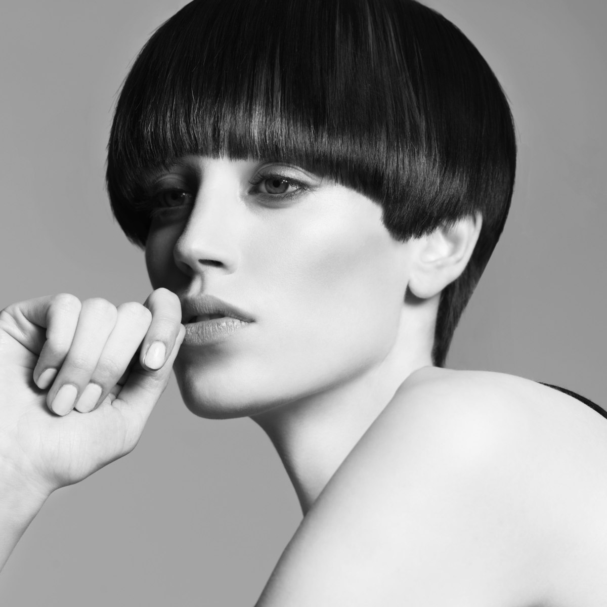 Modern Pageboy With A Longer Back And A Retro Fringe