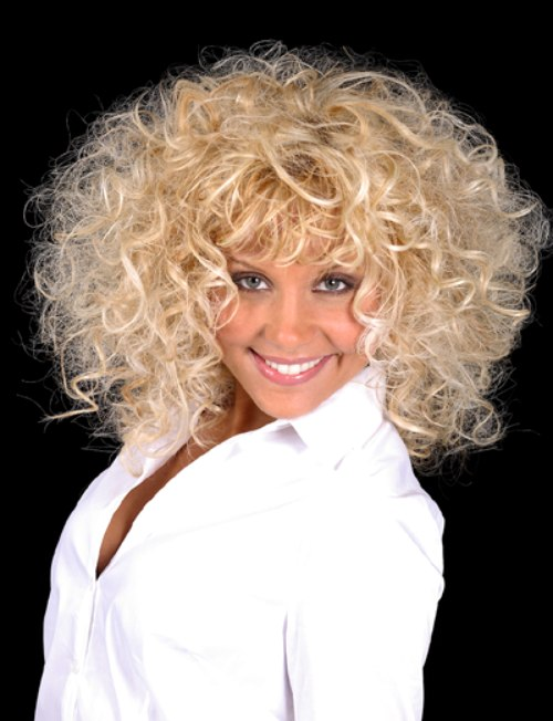 Dolly Parton Hairstyle Big Hair With Spiral Curls