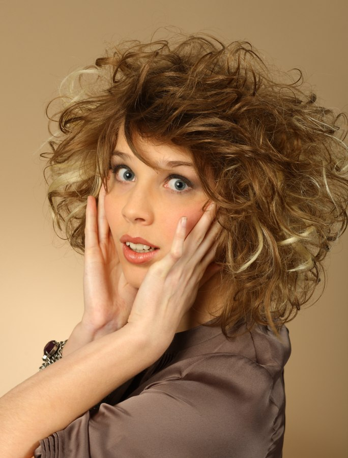 Shoulder Length Hairstyles Naturally Curly Hair