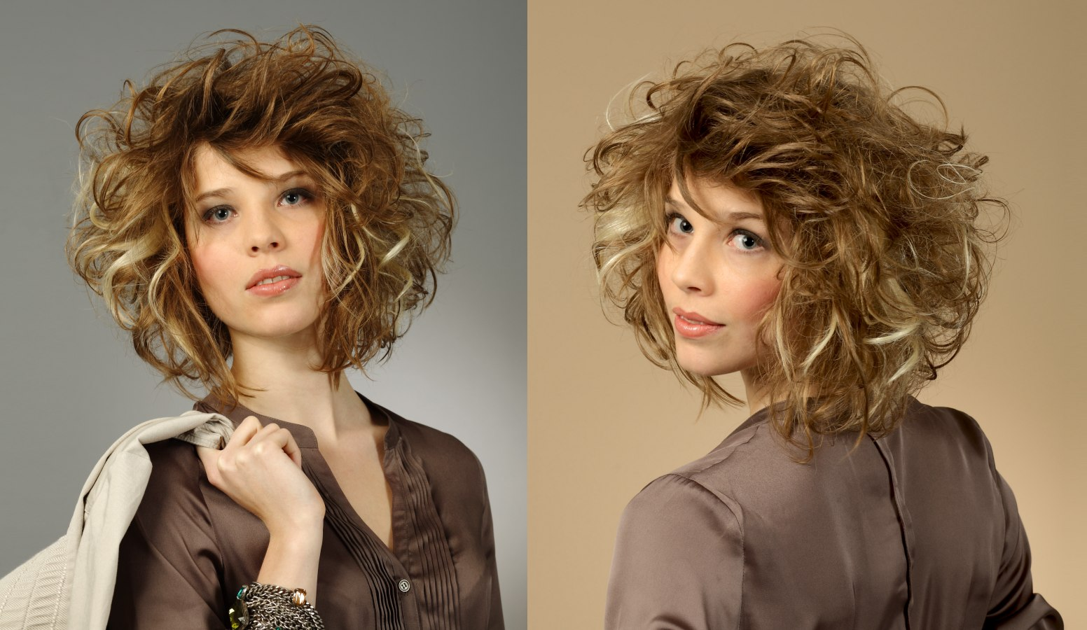 Sensational Medium Long Curly Hair With Wild Large Curls And A Fringe That Hairstyles For Men Maxibearus