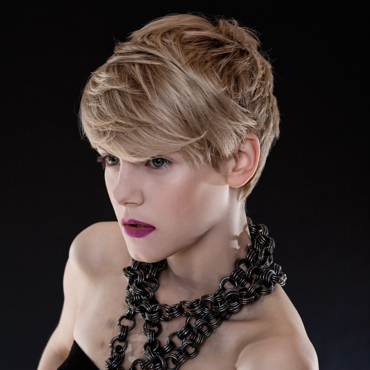 Modern Hairstyles For Short Blond Hair, From Scandinavia