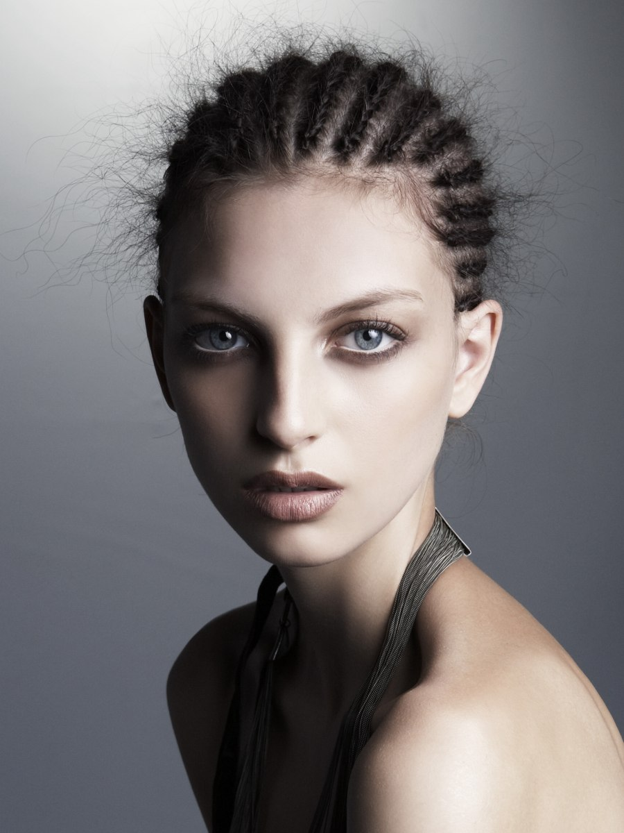 Excellent How To Braid Hair In Cornrows Braids Hairstyle Inspiration Daily Dogsangcom