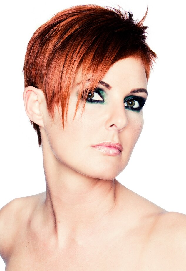 Remarkable Very Short And Spiky Haircut Hairstyle With A Clean Feel Short Hairstyles Gunalazisus