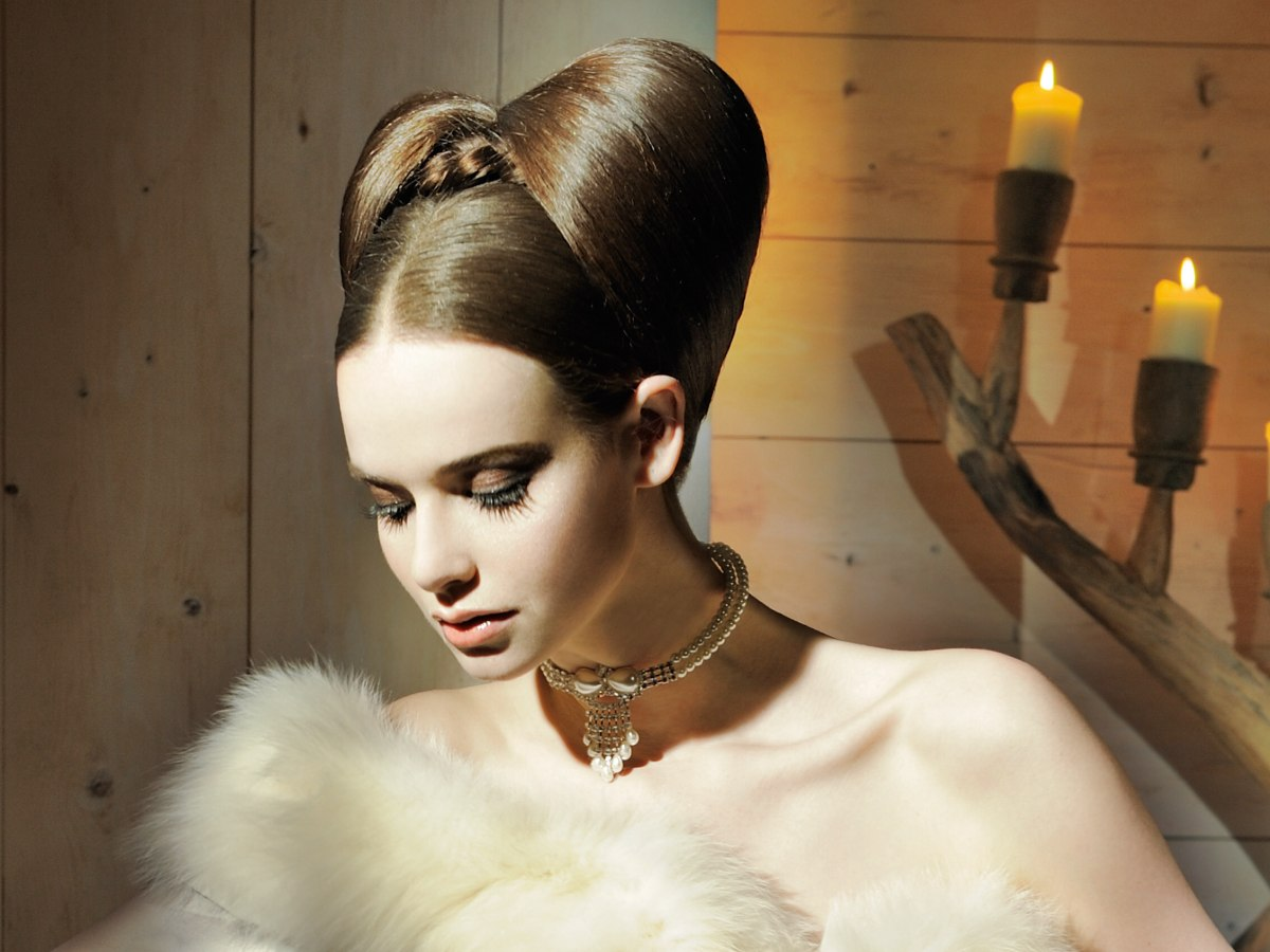 Brilliant Updo With A Double Chignon That Brings Back Memories Of The Short Hairstyles For Black Women Fulllsitofus