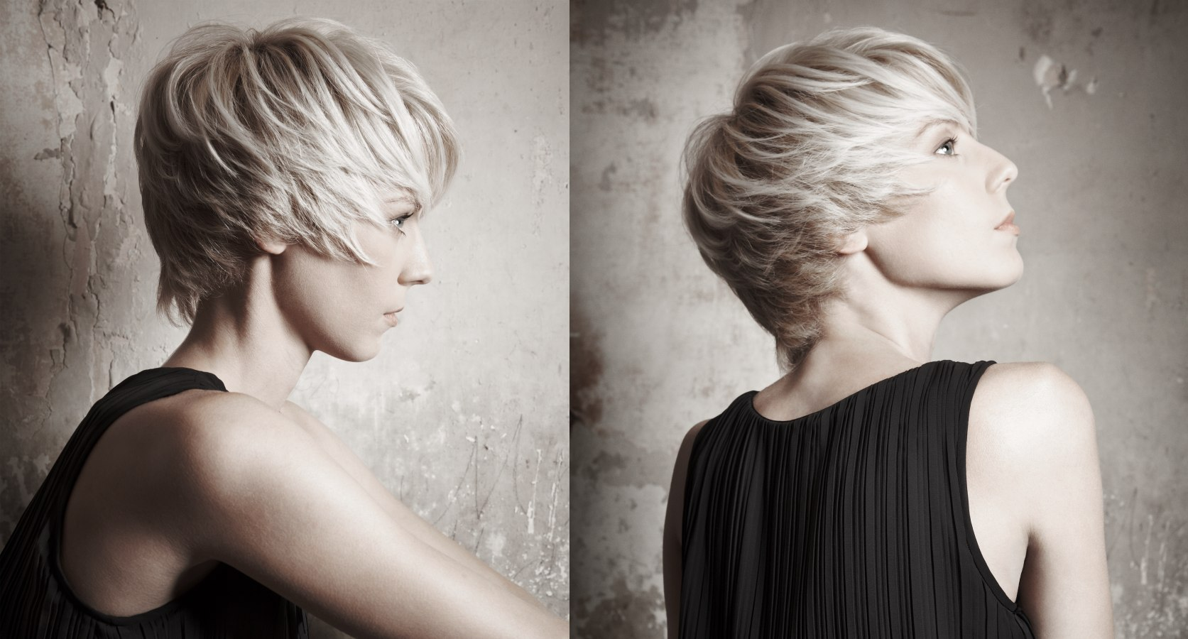 Rebellious, Modern And Young Short Hairstyle