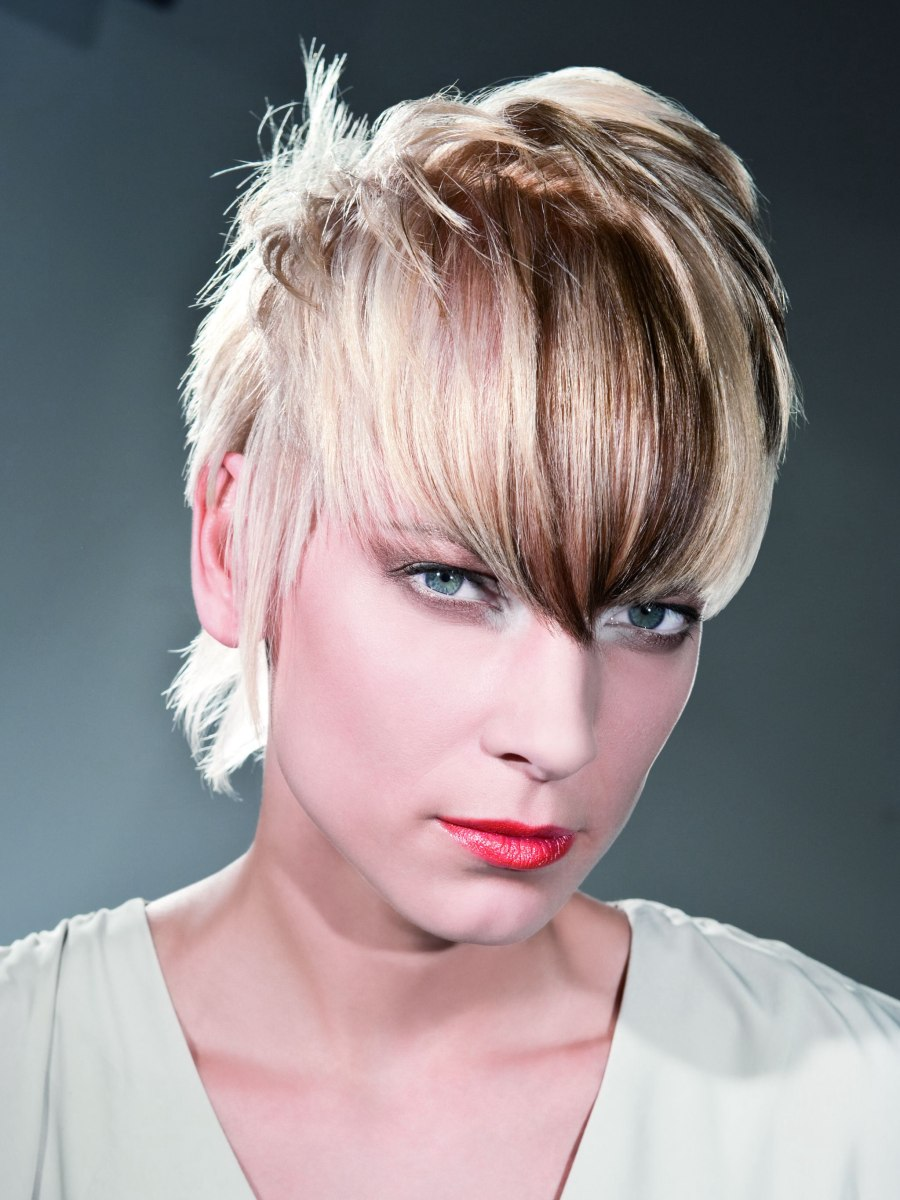 Light Blonde Hair With Bangs