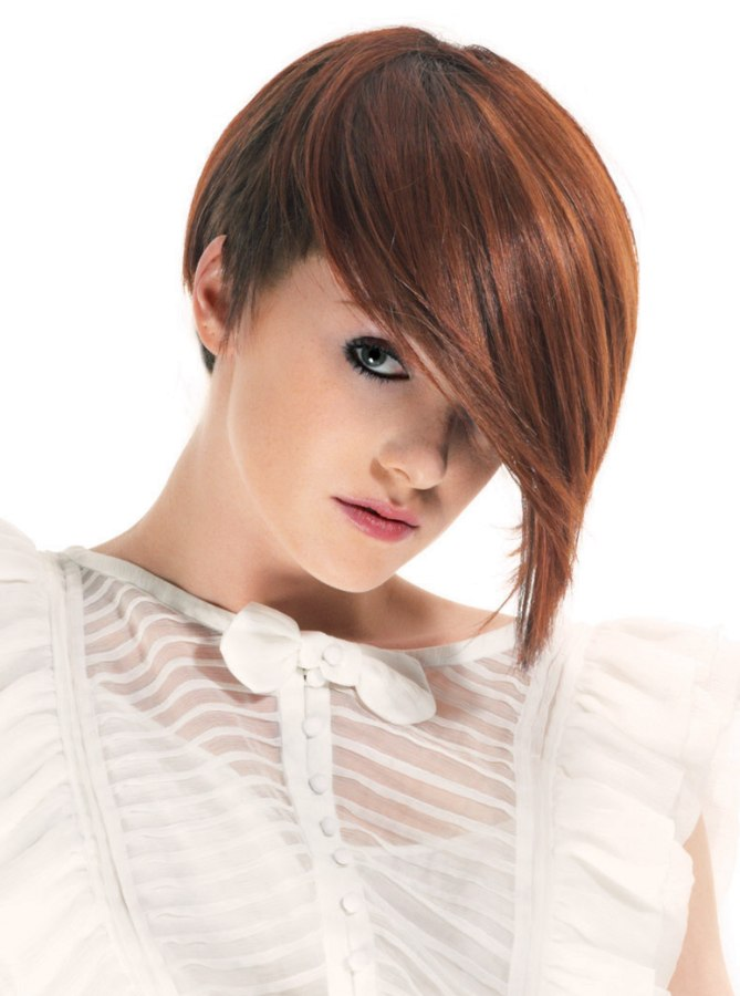 Surprising Short Hairstyle With The Neck And Sides Cropped Really Short Short Hairstyles Gunalazisus