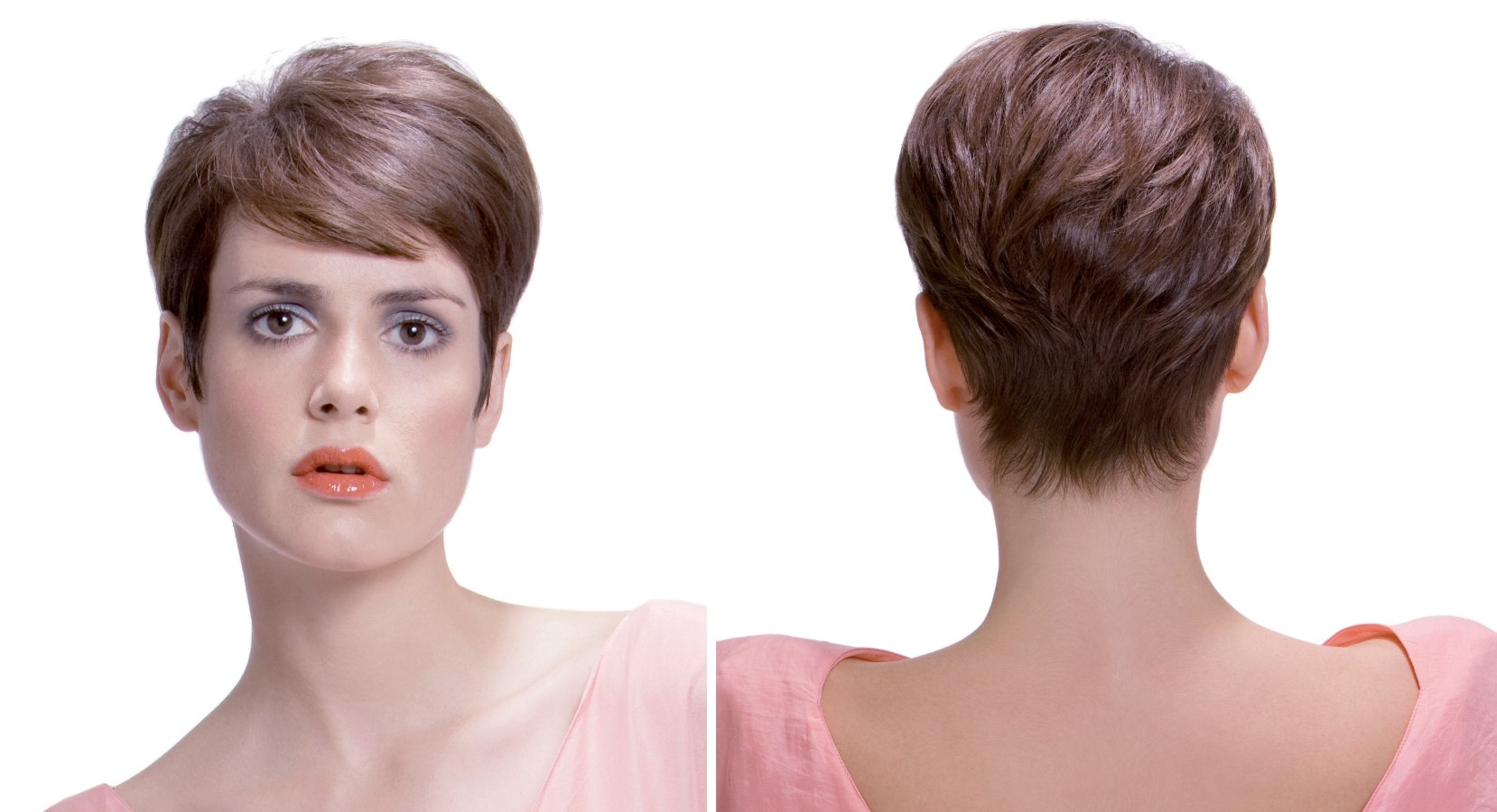 Tidy short and low maintenance haircut for women