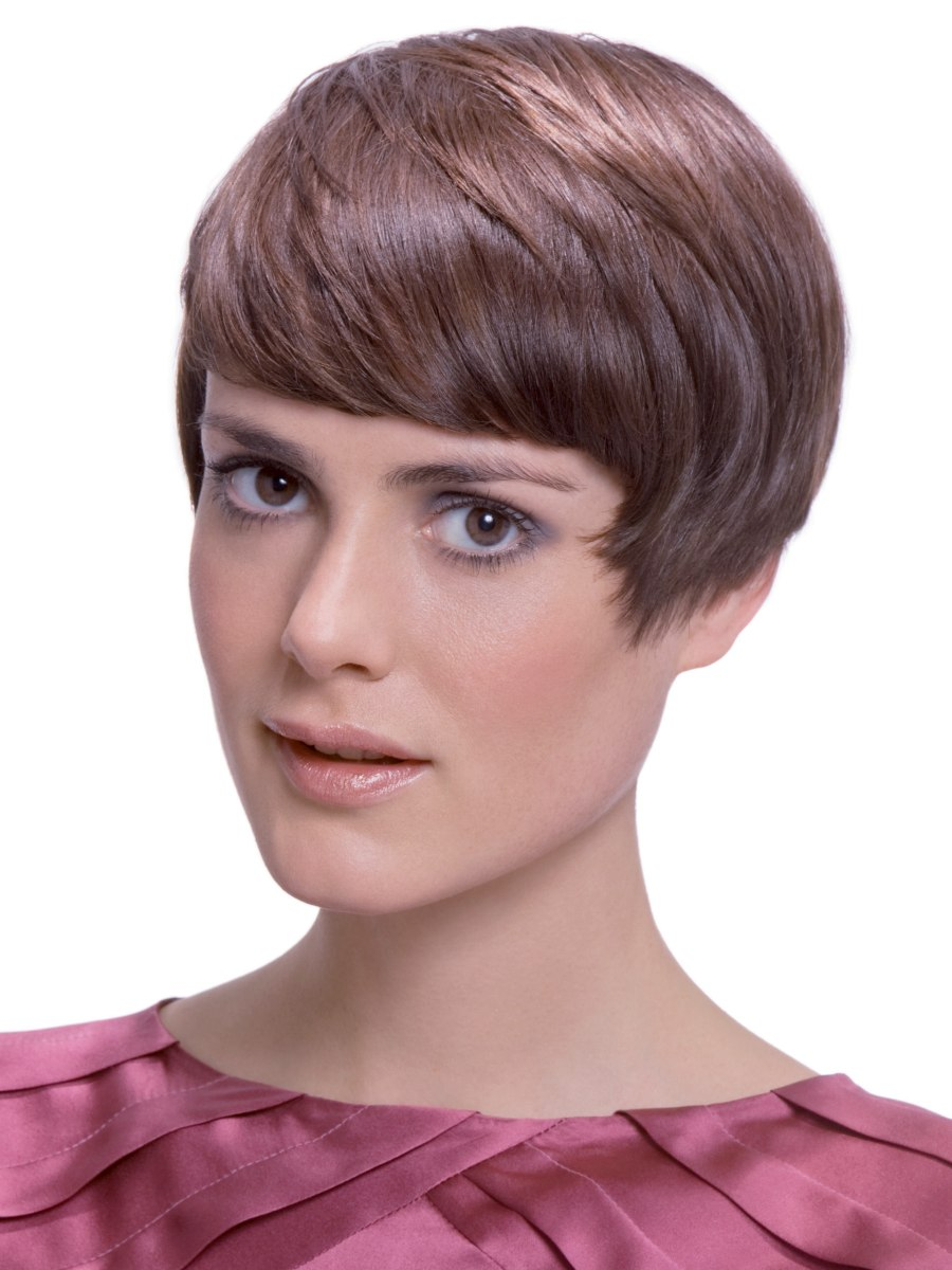 50s haircut for short hair - Short Retro 50s Haircut With Fanned Out Sideburns