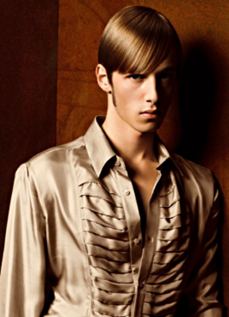 Simple Sleek Hairstyle For Men With The Hair Cut Just