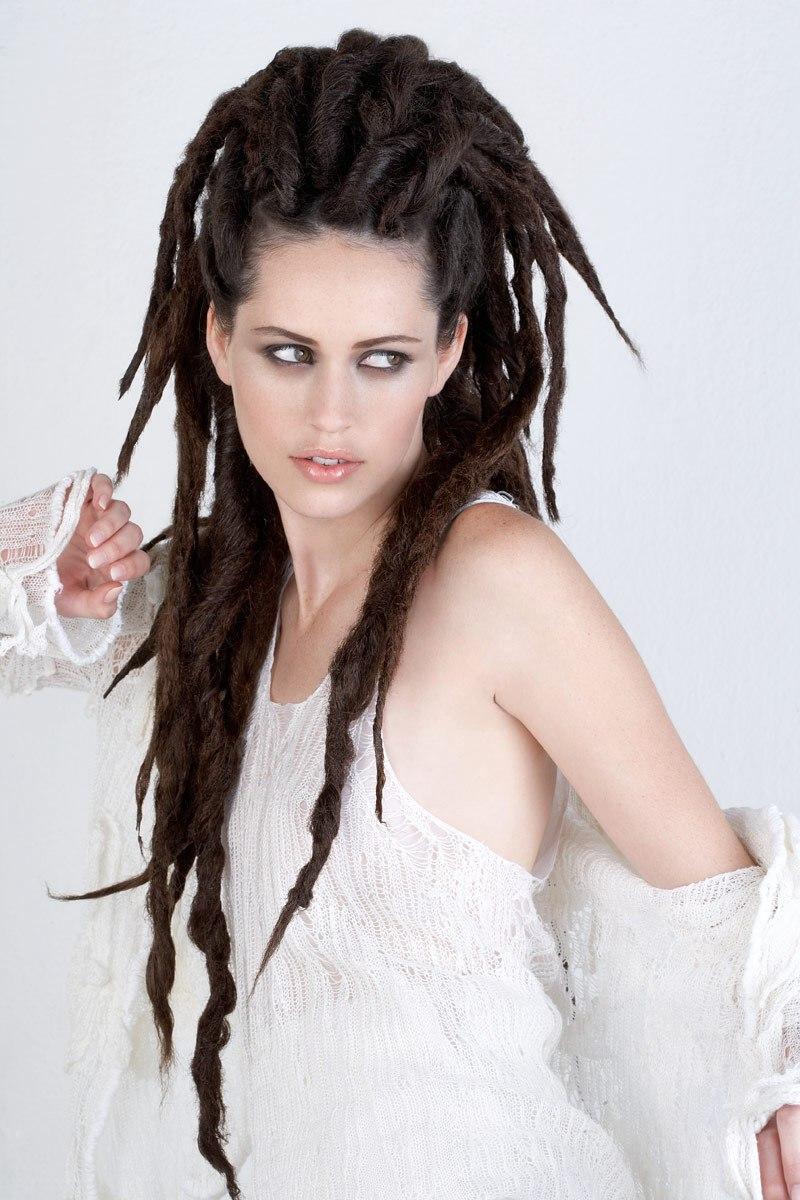 White Girl Dreadlock Hairstyles