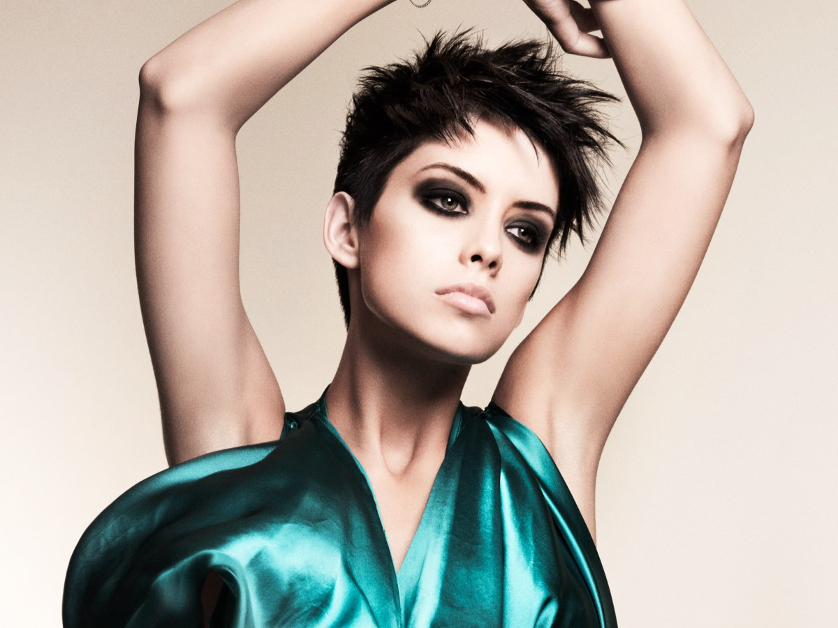 Remarkable Choppy Short Hairstyle With Soft Spikes And Extremely Short Sides Short Hairstyles Gunalazisus