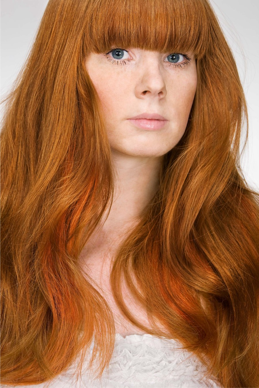 Beauty Ideal Of Long Red Hair And A Pale Skin