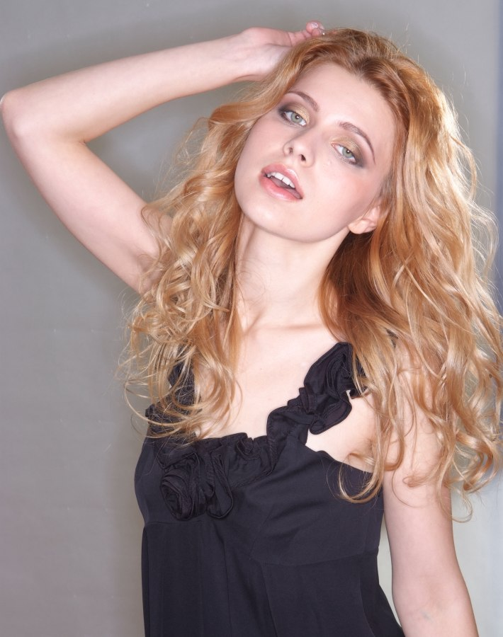 Long Strawberry Blonde Hair That Brings Out The Radiance