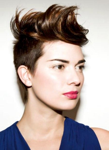 Short Sides Long Top Haircut Woman Haircuts Models Ideas