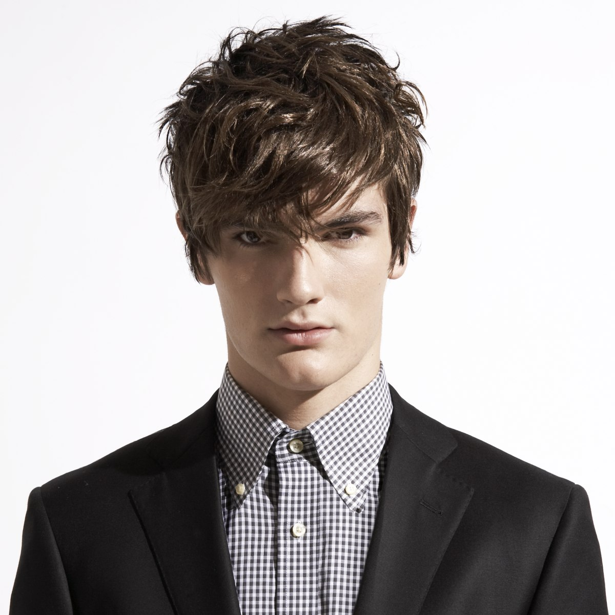 Wearable And Touchable Textured Hairstyle For Men
