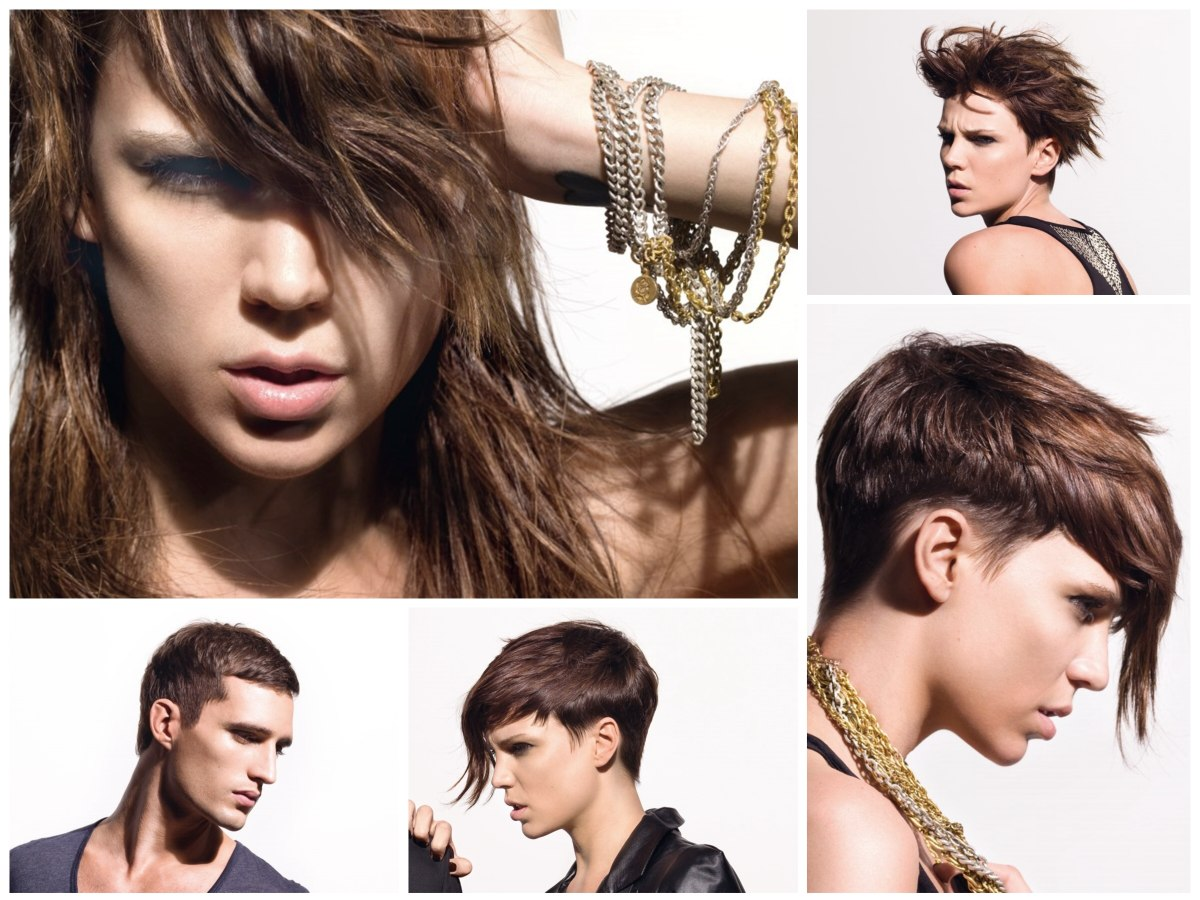 rock and roll hairstyles for men and women