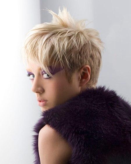 modern short hair style
