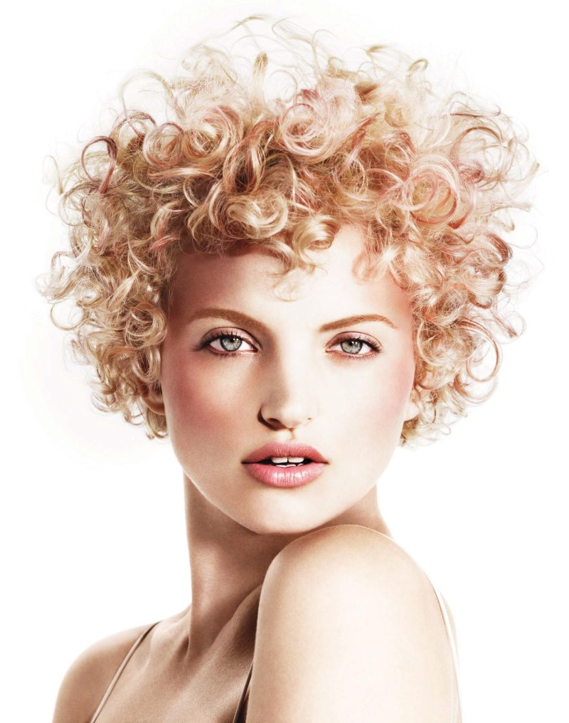 how to get loose curls for short hair