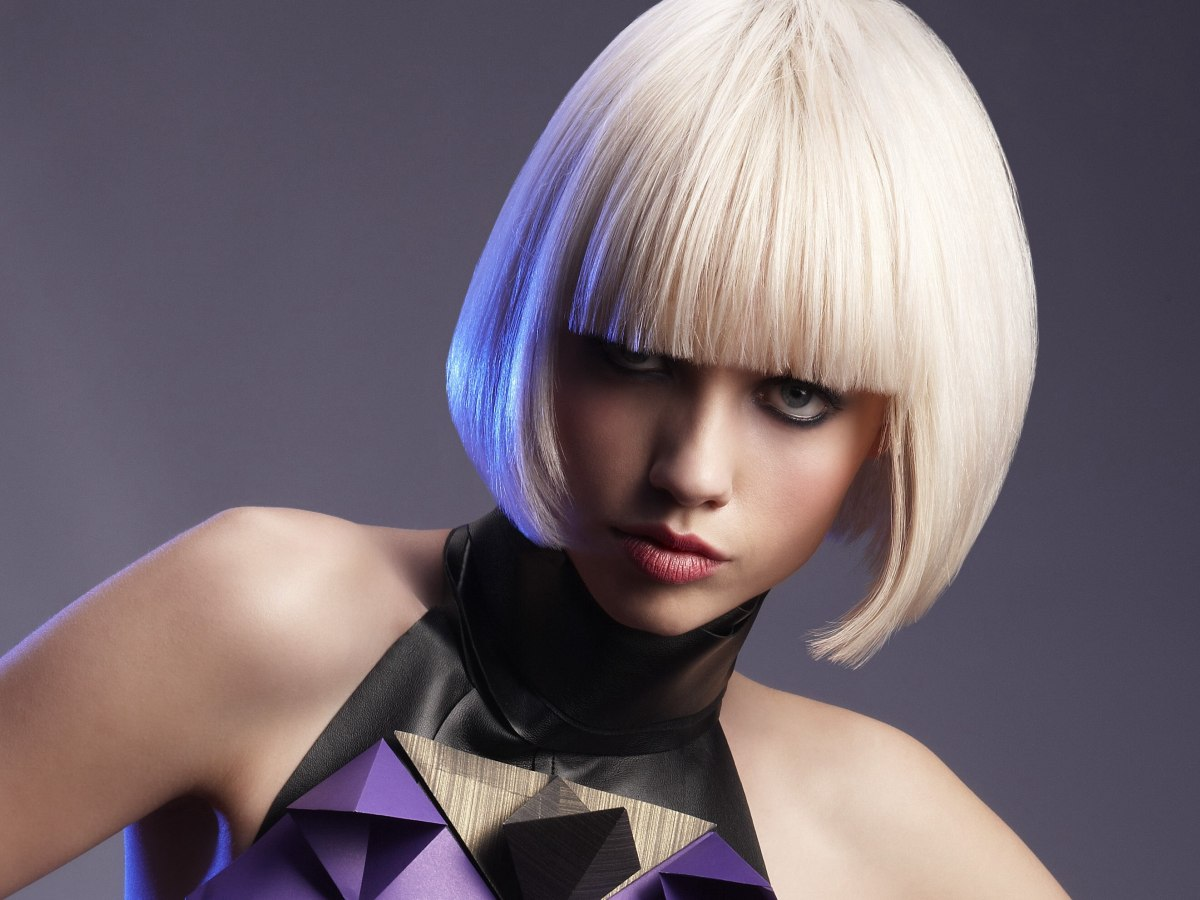 8 Hairstyle: Silky Smooth Bob With Undercutting For Freedom Of Movement