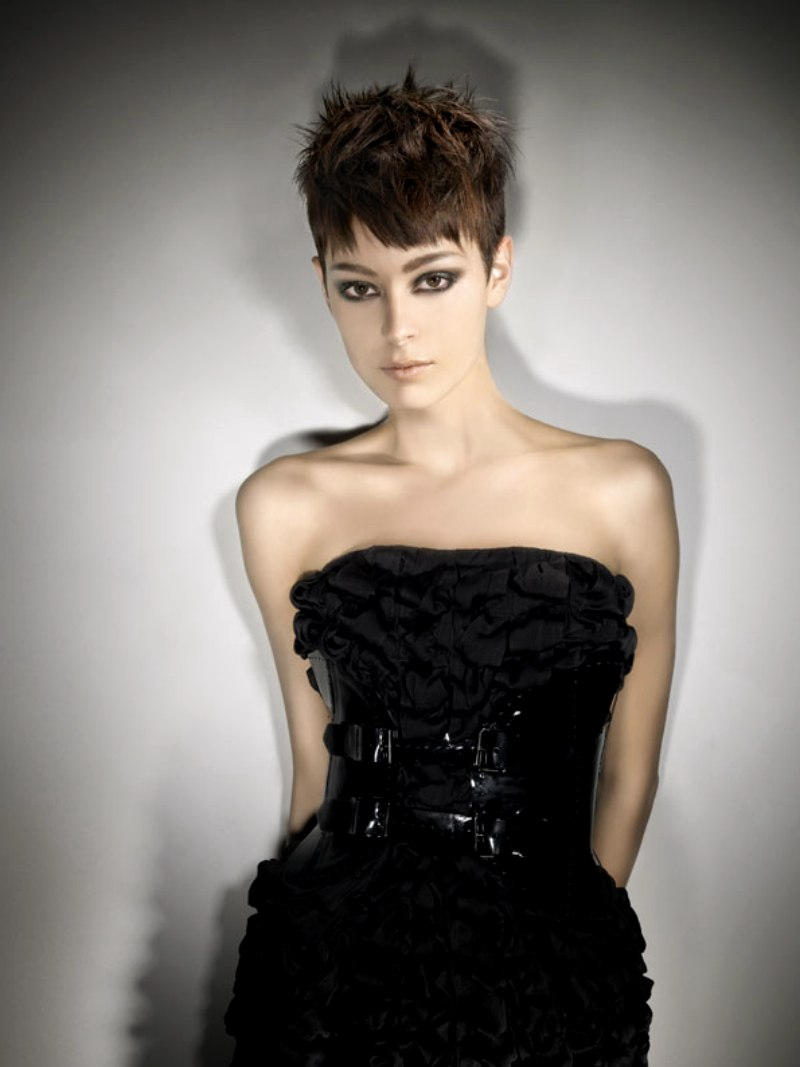 Audrey Hepburn Look Short Hairstyle Bangs