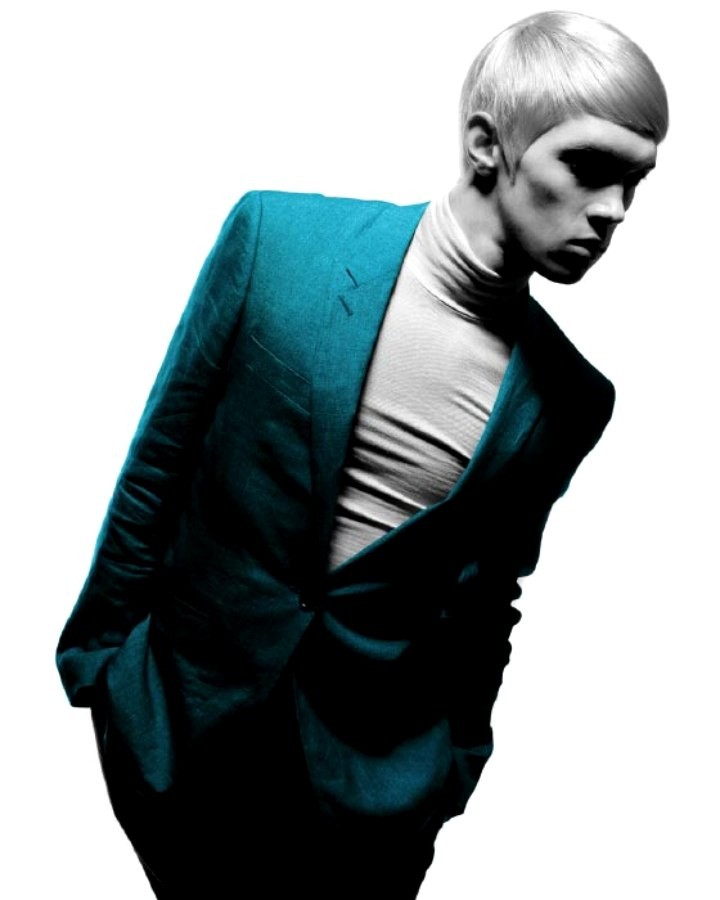 sixties fashion mod look hairstyle for men
