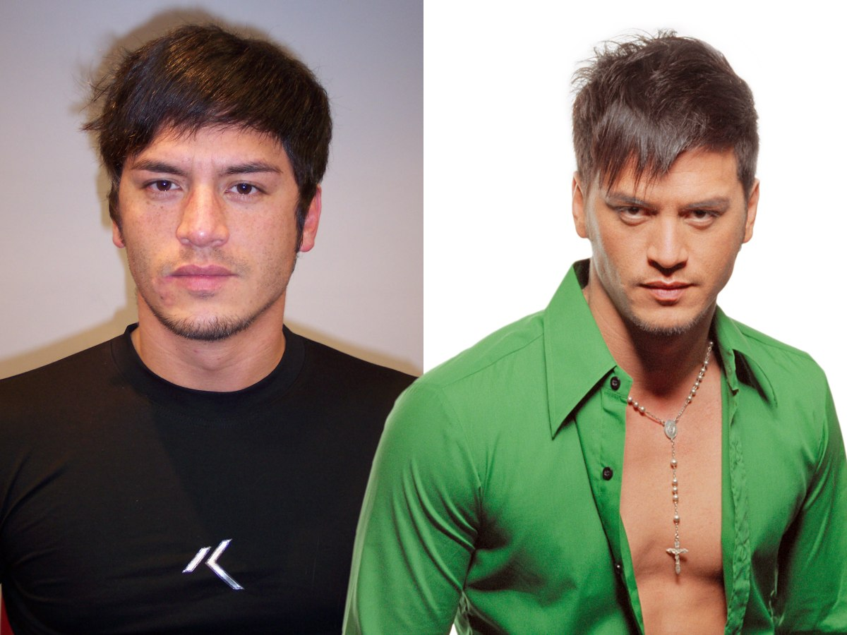 Men's Hair Makeover With Lightened Hair And Spiky Bangs