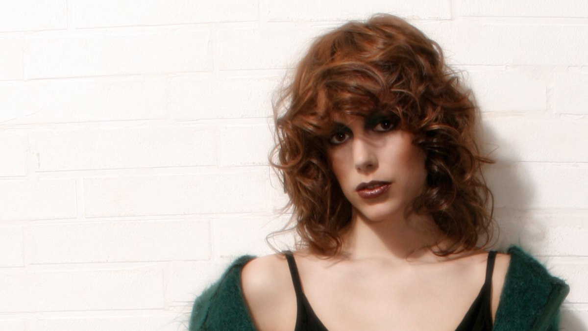 Awe Inspiring Long 80S Inspired Hairstyle With Large Voluptuous Mahogany Curls Hairstyle Inspiration Daily Dogsangcom
