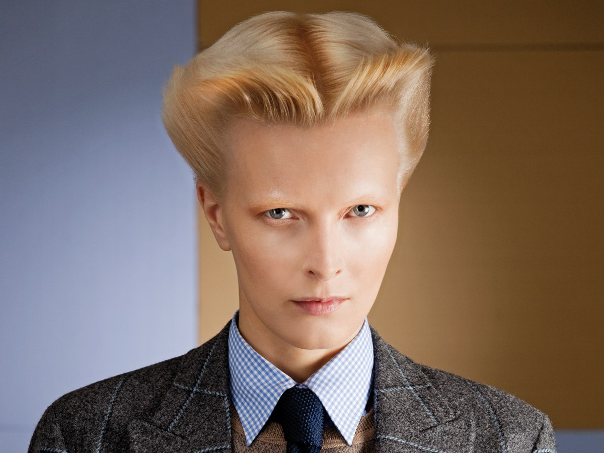 Short Androgynous Look Inspired By Men S Hairstyles