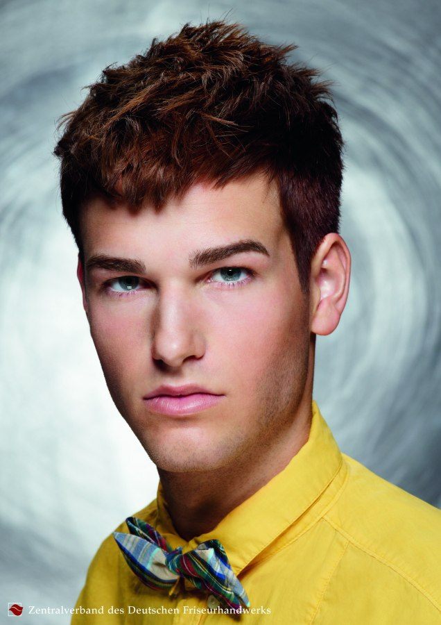 Professional Men S Hairstyle That Can Be Quickly Adapted