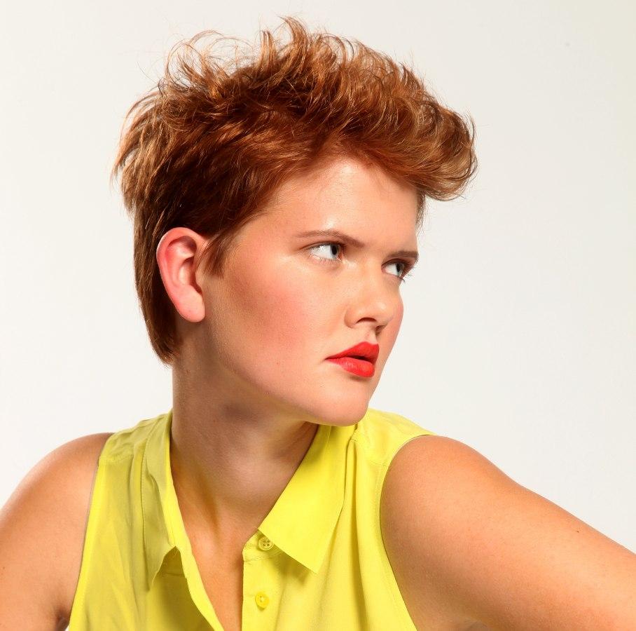 Short Red Hair: Punk Hairstyles