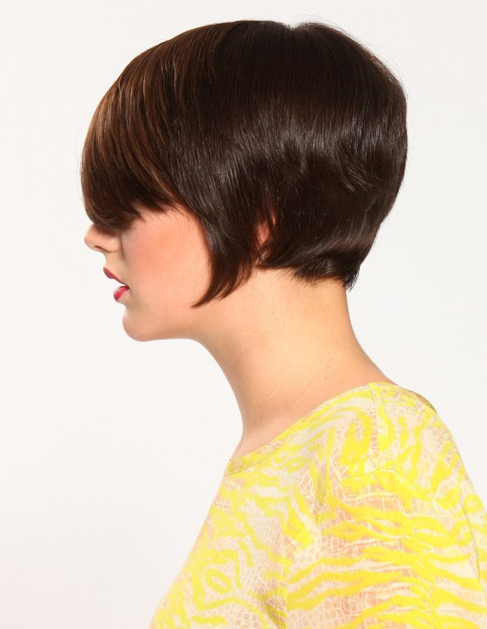 Haircut With A Short Back And A Disconnected Part At Ear