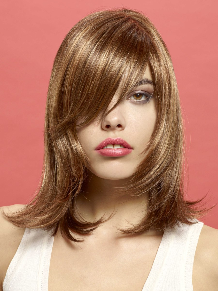 layered haircut for medium length hair layered flipped out hairstyles fade haircut 4750