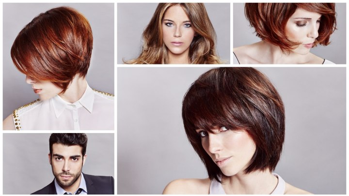 Trendy New Hairstyles And Hair Colors For Men And Women