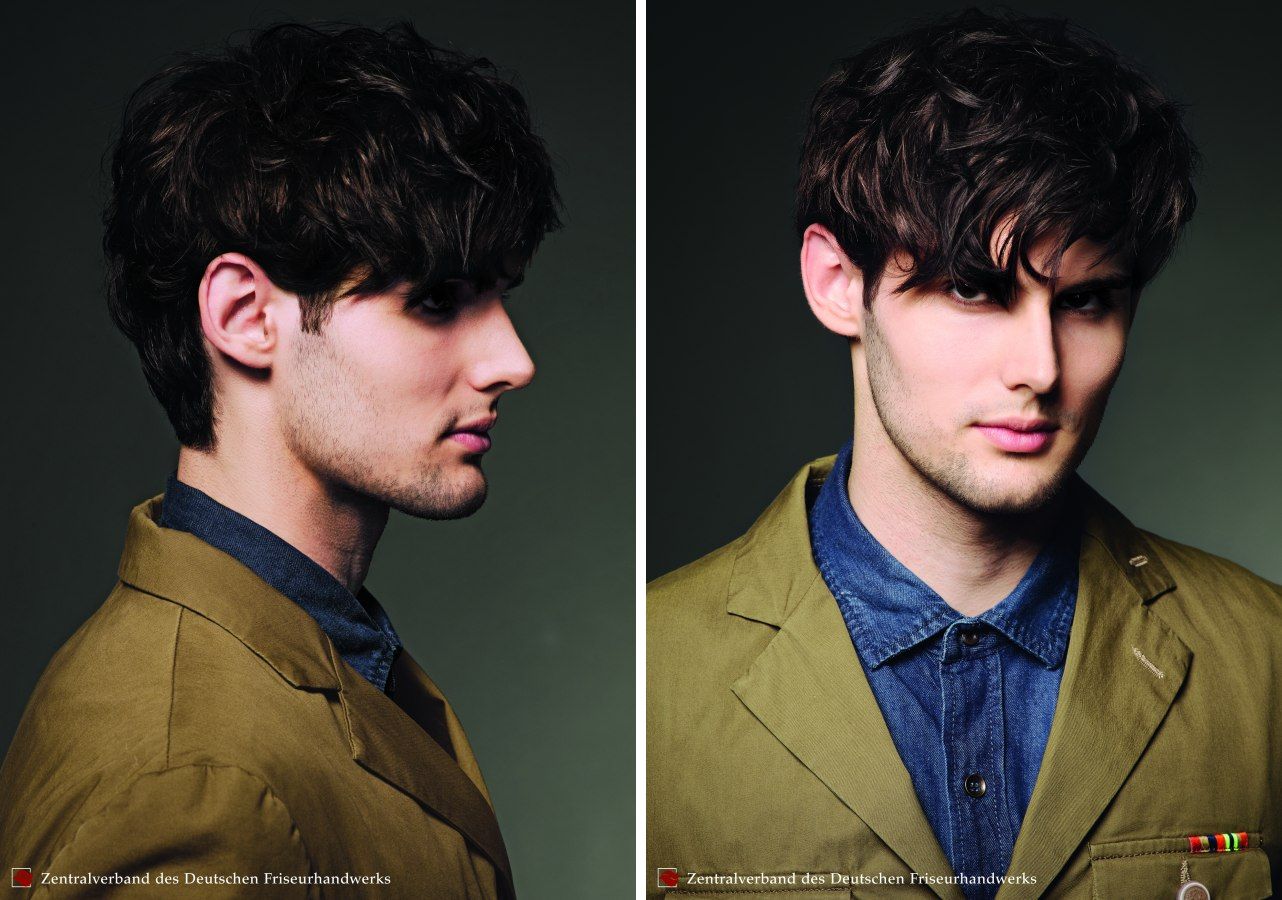 Contemporary Hairdo For Men Who Like To Show Their Softer