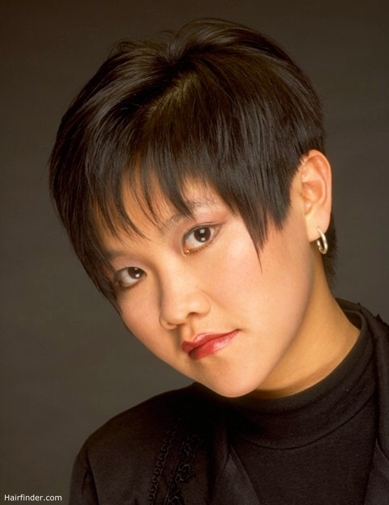 Short Asian Haircut That Is Quick To Style