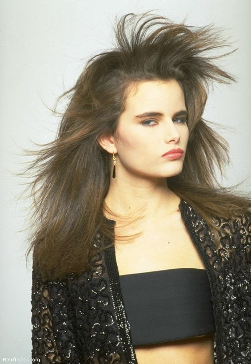 Long Hair That Flows In The Wind Windswept Look