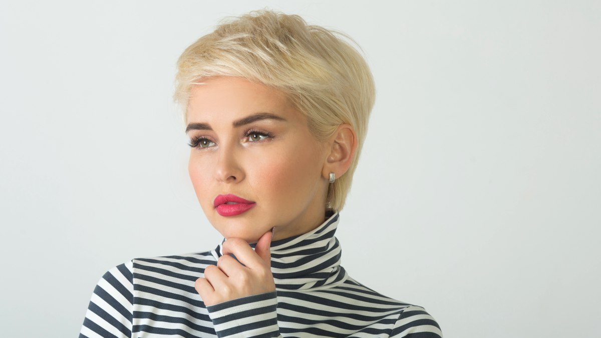 how to find the right short hairstyle to suit the shape of your face