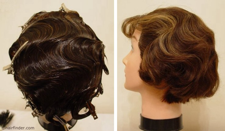 finger waves and pin curls. Finger Waves, Pin Curls