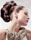 up-style with chignon