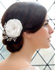 large flower hair accessory