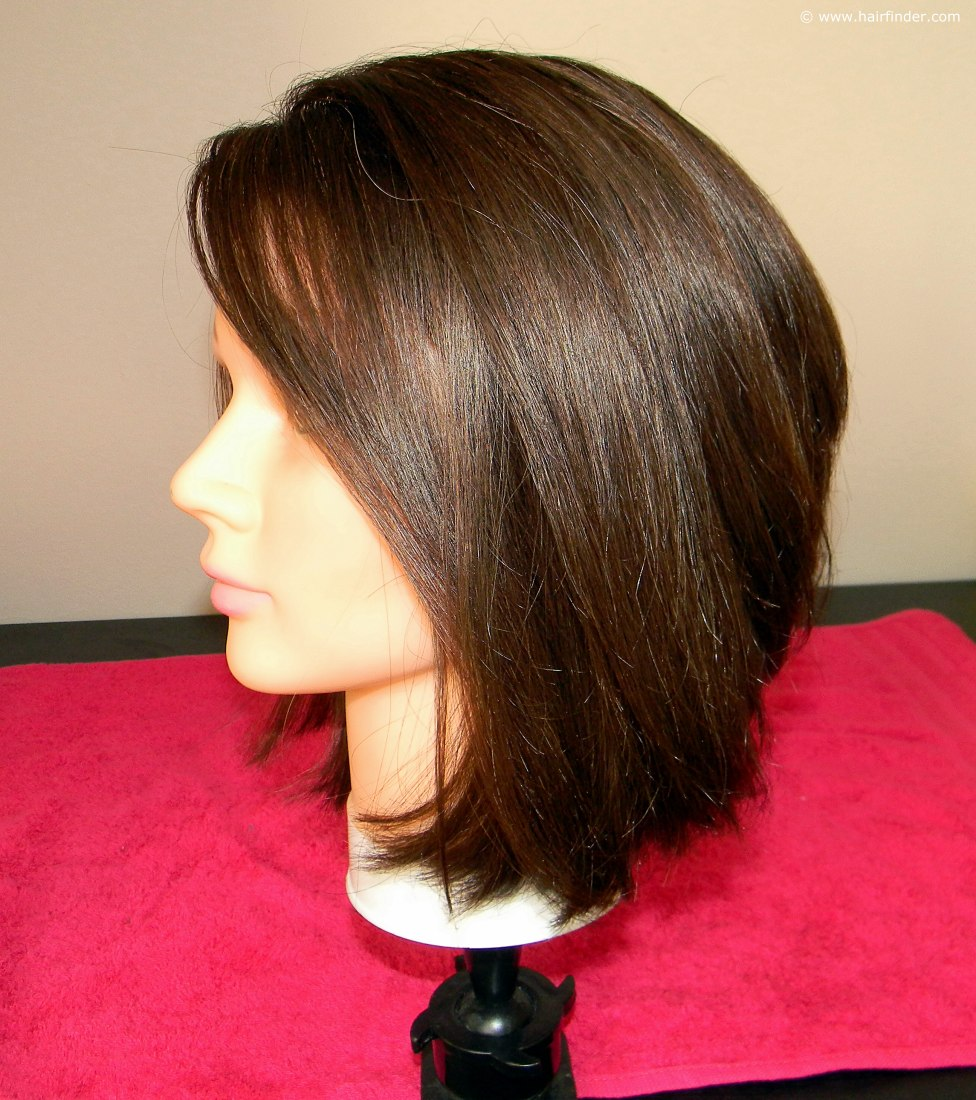 How To Blow Dry An Angled Bob