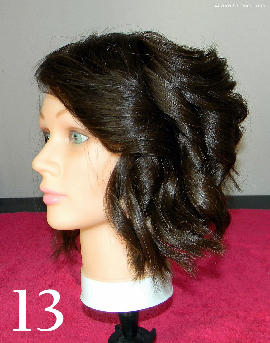 Angled Bob With Beach Curls How To Page 3